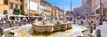 Navona Square, Centre Of  Rome...