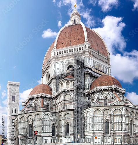 Fotografie, Obraz  Duomo Santa Maria Del Fiore . Florence, Italy