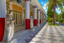 Achillion Palace, Corfu Island...
