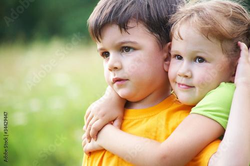 Fotografie, Obraz Little siblings