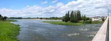 Landscape Of  Ambuase On A Riv...
