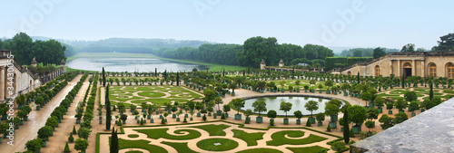 Landscaping architecture of palace Versailles, France #34430055