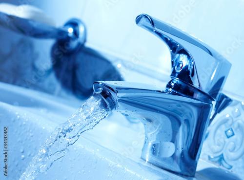 Vászonkép Water tap