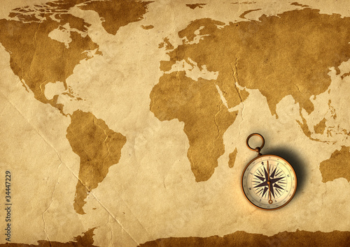 stara-mapa-i-kompas