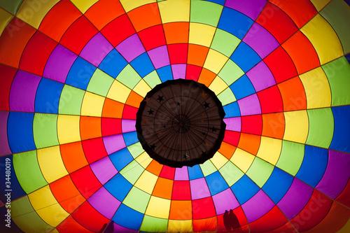 Keuken foto achterwand Ballon Inside the balloon