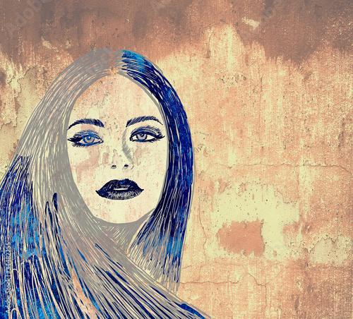 kobieta-graffiti-na-scianie