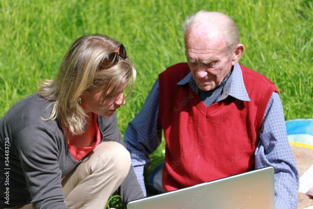 Frau mann junge alter Partnersuche für