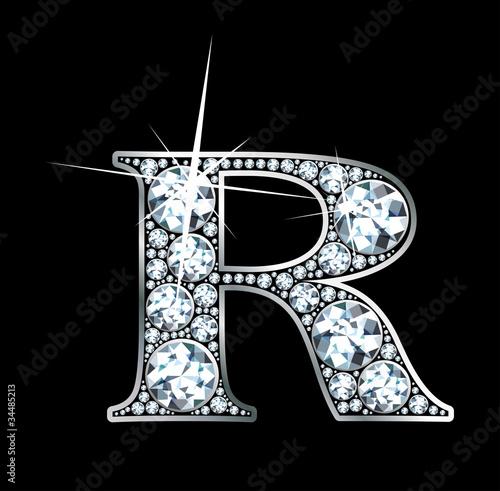 """Photo  Diamond """"R"""""""