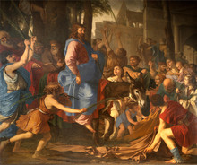 Jesus Entry Into Jerusalem - Paris