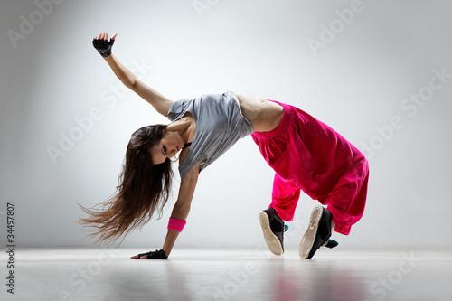 fototapeta na lodówkę tancerz