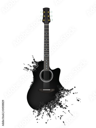 Fotografie, Obraz  Electric Guitar