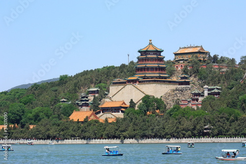 Foto op Aluminium Beijing landscape of summer palace