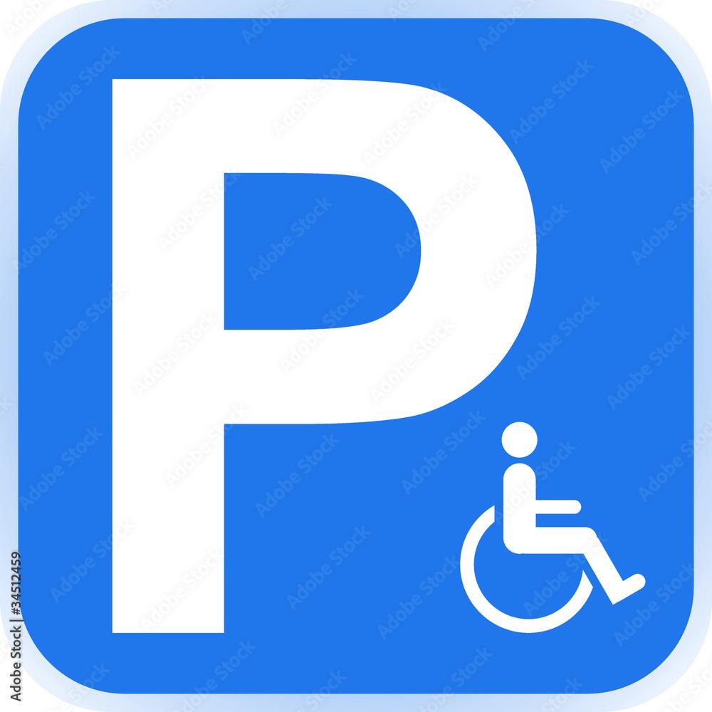schild parkplatz behinderte  stock  gamesageddon