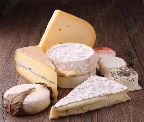 Staande foto Zuivelproducten produits laitiers