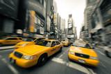 Fototapeta Nowy Jork - New York taxis