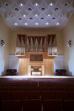 Wooden Pipe Organ With Control...