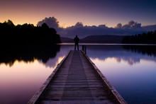 Lake Mapourika New Zealand
