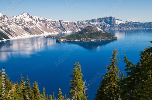Poster Lac / Etang Crater Lake