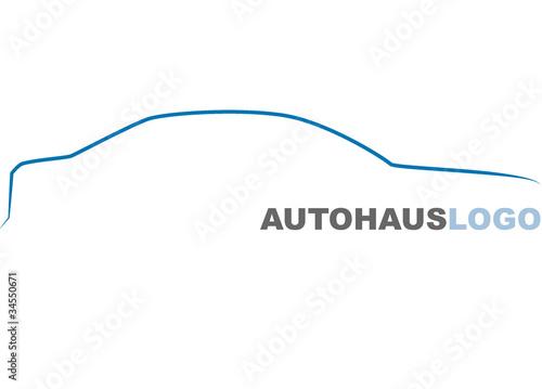Fotografia, Obraz  Logo macchina