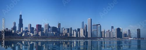 Fototapeta panorama   panorama-chicago-skyline