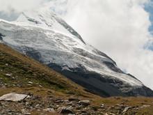 Glacier De La Face Nord Du Cervin