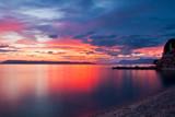 Fototapeta Fototapety z morzem do Twojej sypialni - Podgora Chorwacja