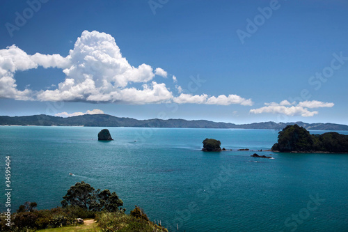 Tuinposter Cathedral Cove Küste bei Hahei