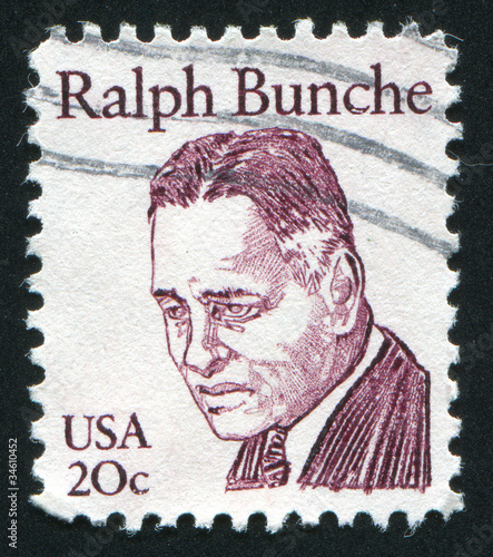 Ralph Bunche Canvas Print