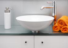 Modernes Bad - Waschbecken & A...