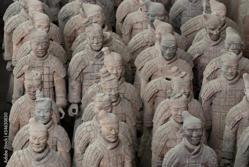 Foto op Plexiglas Xian Armée de terre cuite, Chine 08
