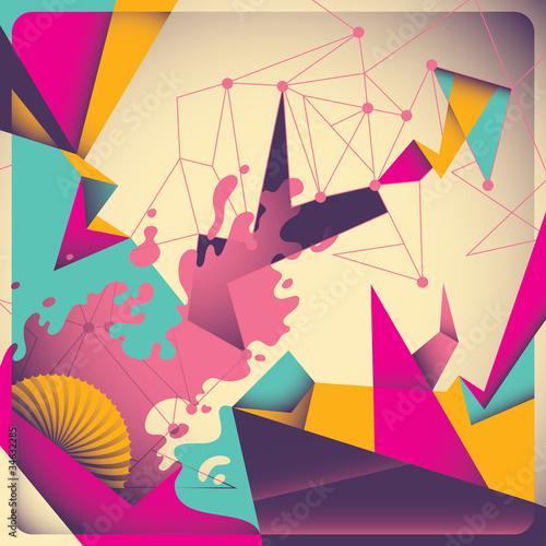 kolorowa-retro-abstrakcja