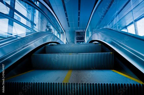Photographie escalator
