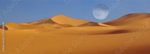 Keuken foto achterwand Rood paars Wüstenmond