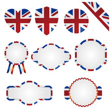 United Kingdom Union Jack Set