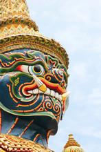 Statue, Thailand.