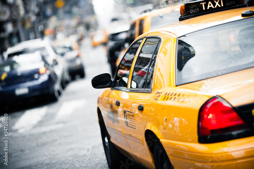 New York taxi Wallpaper Mural