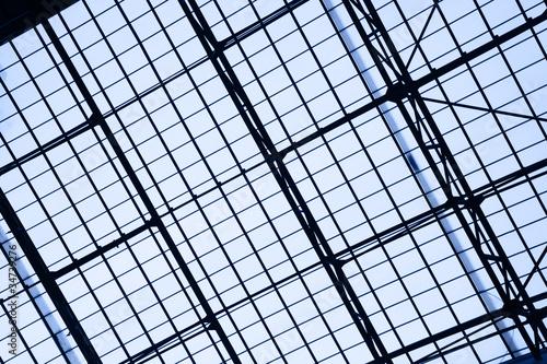 Staande foto Industrial geb. Glass roof