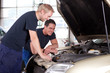 Mechanics in Auto Repair Shop