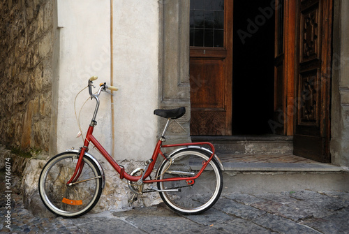 Staande foto Fiets Italian old-style bicycle