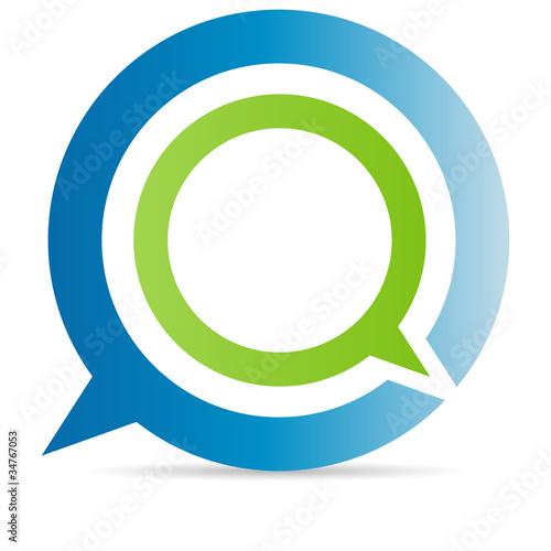 Photo  Q chat sign