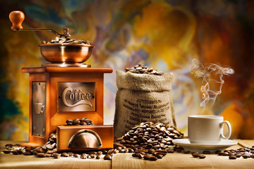 Obraz coffee for still life