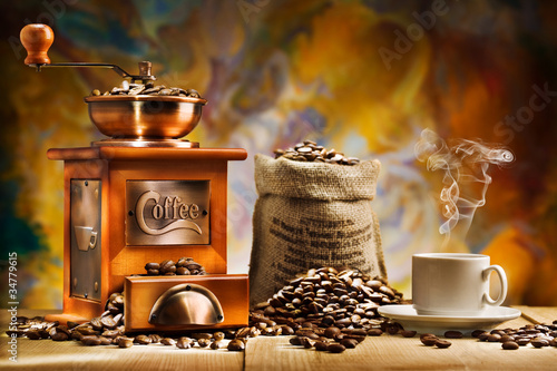 coffee for still life - 34779615