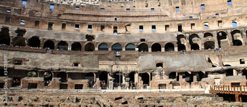 Foto Il Colosseo Inside Wall