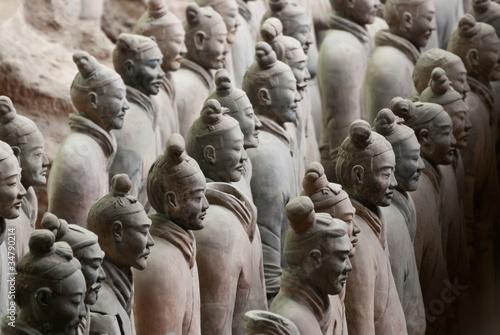 Recess Fitting Xian Armée de terre cuite, Chine 16