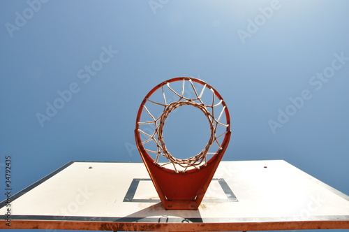Photo  Basketballkorb