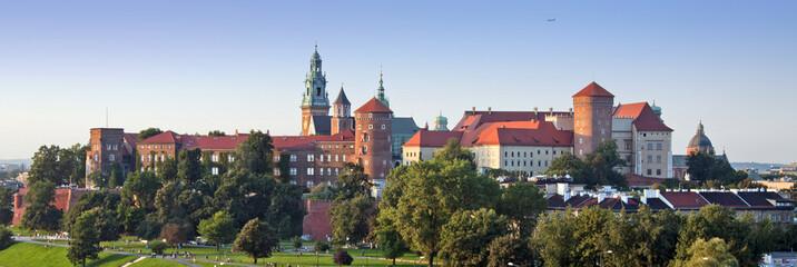 Fototapeta Kraków Wawel Castle Panorama