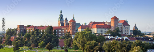 Wawel Castle Panorama