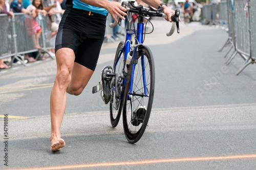 triathlon Canvas Print