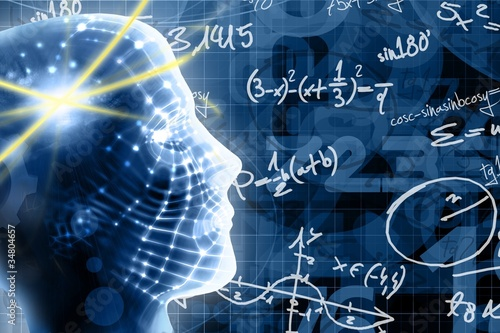 Fototapeta learn math concept