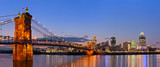 Fototapeta Most - Cincinnati skyline panorama.